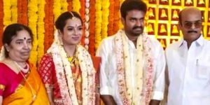 serial actress swathi nithyanand enters into wedlock